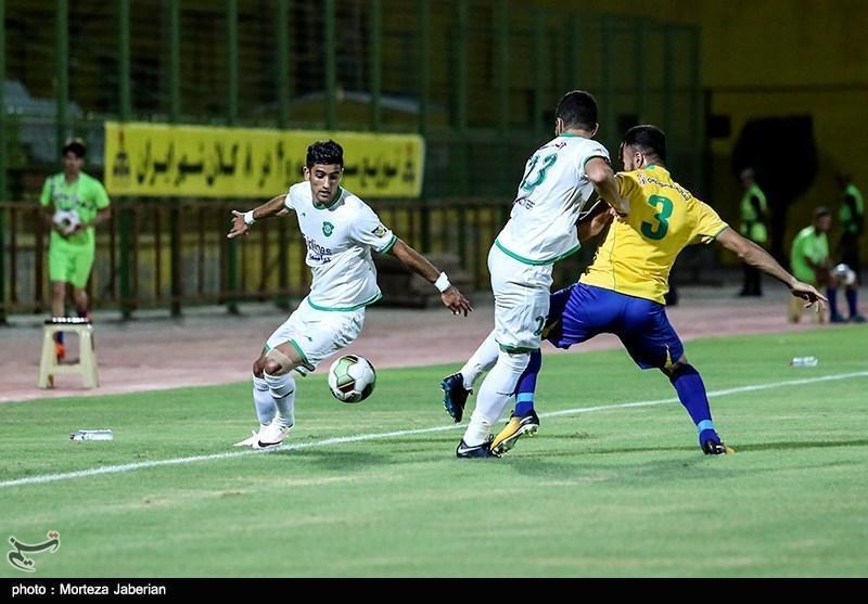 لیگ برتر فوتبال، پیروزی یک نیمه ای ماشین سازی مقابل پارس جنوبی